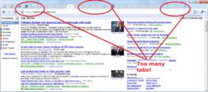 multiple browser tabs